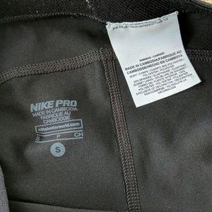 Nike Shorts - Nike Pro Dri-Fit Black Spandex Bike Shorts
